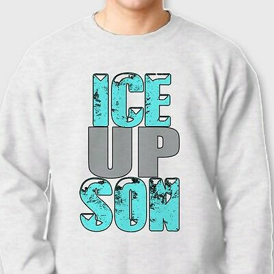 ICE UP SON Funny Carolina Panthers Tee jersey NFL's Steve Smith Crew Sweatshirt - Carolina Panthers Funny
