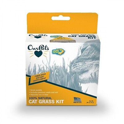 OurPet's - Growable Cat Treats - Kitty Cat Grass Kit - Free Shipping