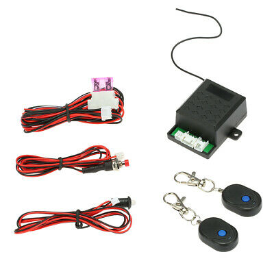 Car Immobilizer Anti Theft Off Oil/Power Lock Engine Alarm System Remote B9E1 ()