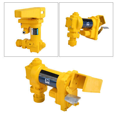 Gasoline Fuel Transfer Pump 12 Volt Dc 20gpm Gas Diesel Kerosene Portable Us