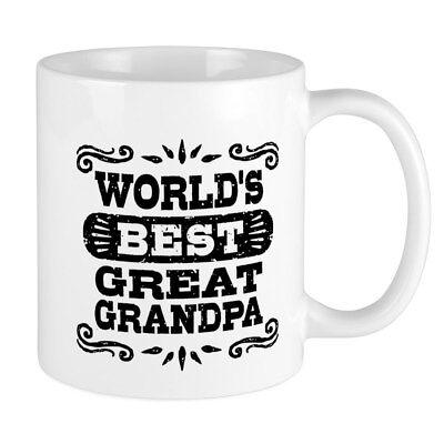 CafePress - World's Best Great Grandpa Mug - 11 oz Ceramic (Best Cafepress Great Grandpas)