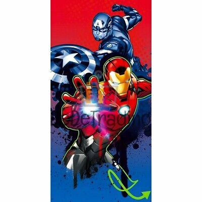 Marvel Avengers Handtuch Badetuch Kind 70x140cm NEU OVP Captain America Iron Man