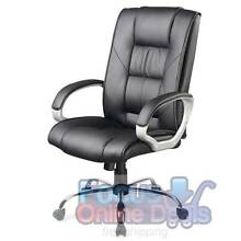 Executive PU Leather Office Computer Chair Black North Melbourne Melbourne City Preview