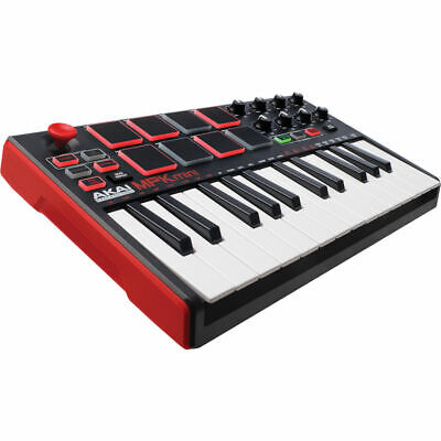 Akai MPK mini MKII - Compact Keyboard and Pad Controller + MPC Essentials