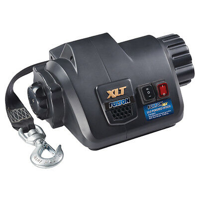Powered Marine (Fulton 500621 Xlt 10.0 Powered Marine Winch W/remote F/boats Up To 26')