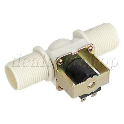 Dc12v 1 Inch Plastic Electric Solenoid Valve Normally Closed Water Flow Switch