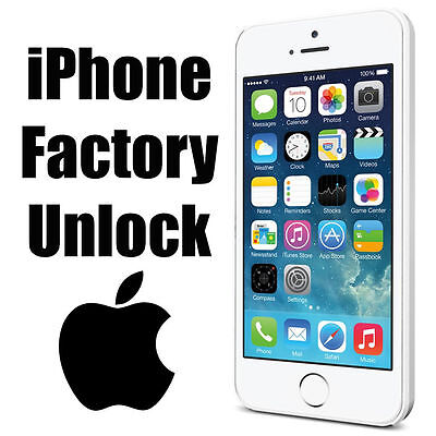 AT&T iPhone 6+/6/5s/5c/5/4s/4/3gs Factory Unlock Code Service Clean imei Only
