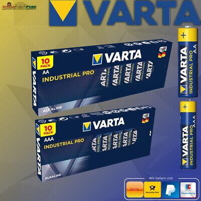 Varta Industrial Pro AAA AA Mignon Micro Batterie MHD 2029 1-100 Stück online kaufen