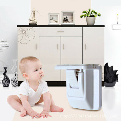 5Pack Multifunction Kids Baby Cabinet Drawer Closet Magnetic Safety Lock Hot #ur for sale  Shipping to Canada