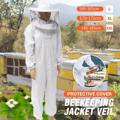 Professional Bee Keeping Suit Full Body Beekeeping Suit Jacketveil Hood 2xl