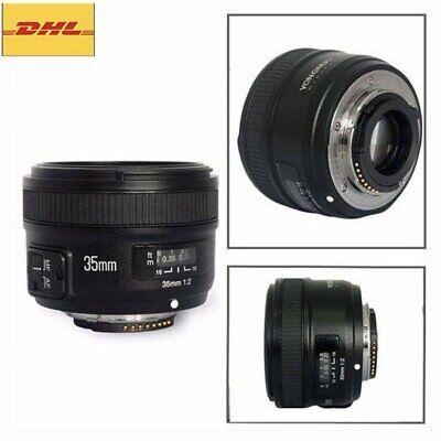Yongnuo YN35mm F2 Weitwinkel Festbrennweite Objektiv Lens für Nikon Kamera DE