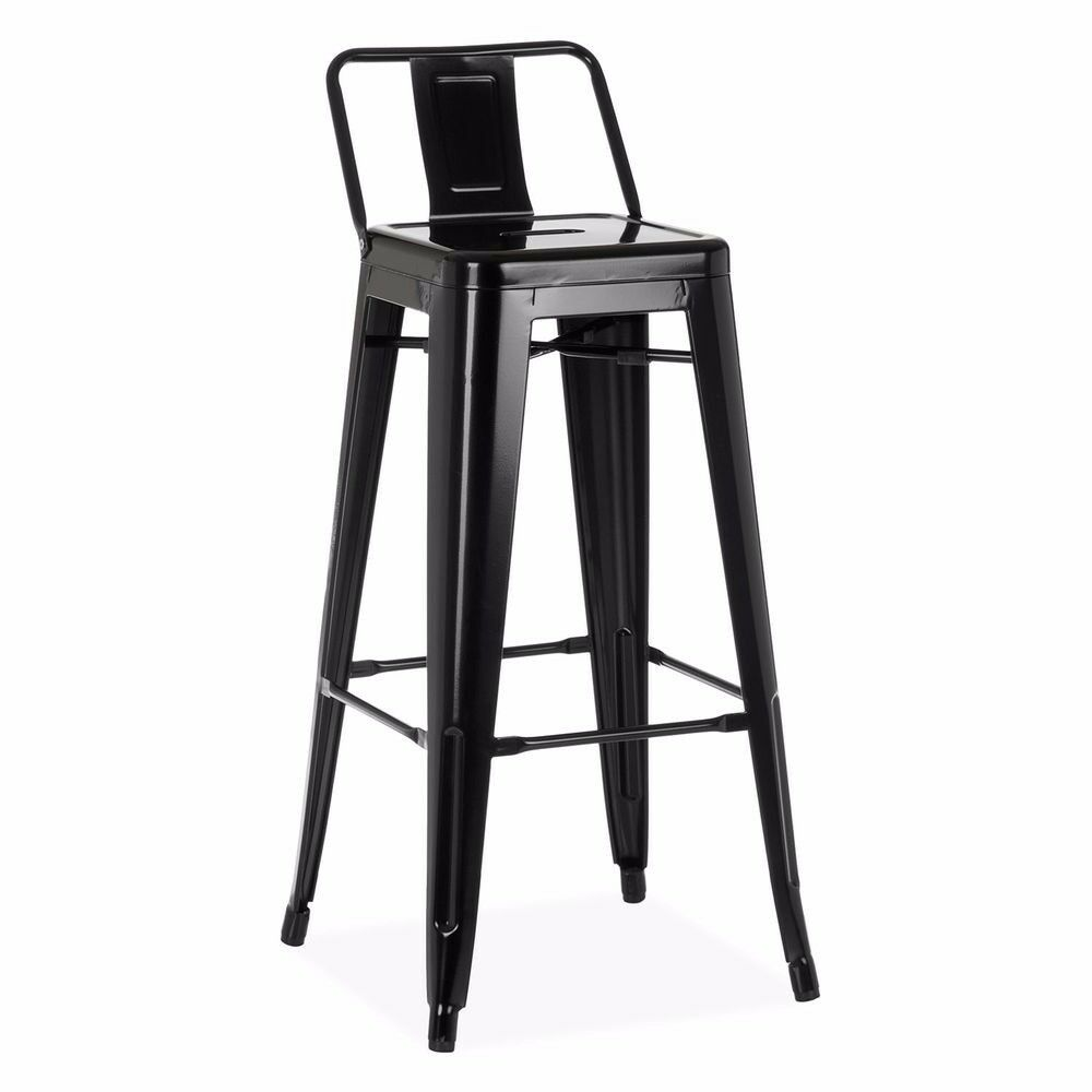 Black Retro Stools NEW