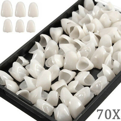 70pcsbox Dental Temporary Crown Material Veneers Anterior Teeth Whitening New
