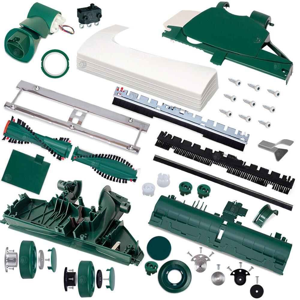 Ersatzteile passend für Vorwerk Elektrobürste EB 350 EB 351 Teppichbürsten - Neu