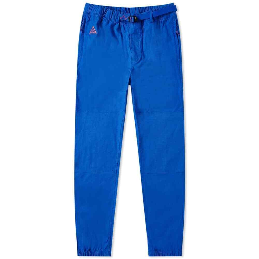 Nike ACG Trail Pants Hyper Royal Blue Pink CD4540-405 Cargo