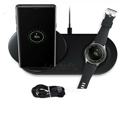 Qi Wireless Charger Fast Charging Pad for Samsung Galaxy S10 Note9 Gear S3 (Samsung Galaxy Note 3 Wireless Charging Pad)