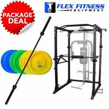 NEW POWER CAGE PACKAGES, CAGE + WEIGHTS + BAR + BENCH + WARRANTY Malaga Swan Area Preview