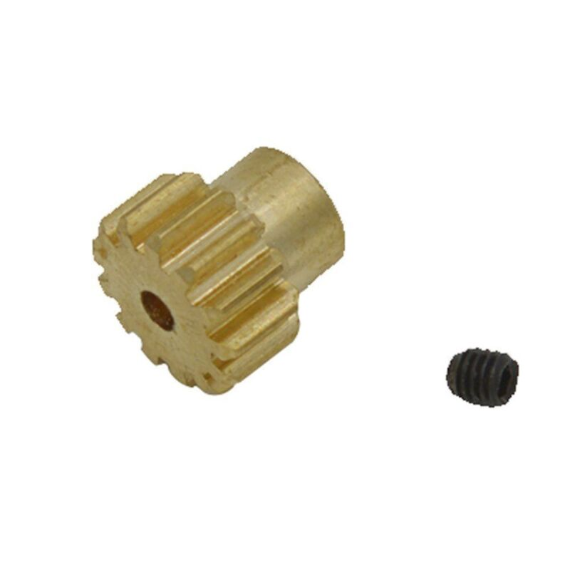Car Parts - REMO G2713 13T Motor Gear (Copper) RC Car Parts for REMO 1/16 Scale Truck Buggy