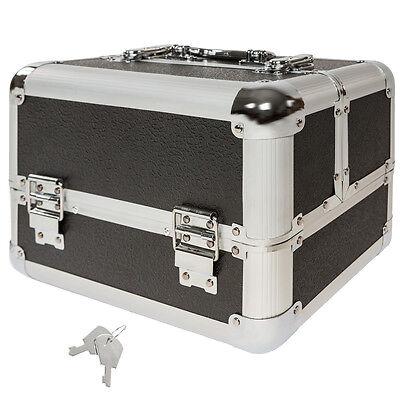 Kosmetikkoffer Schminkkoffer Beauty Case Hartschale Schmuckkoffer Koffer schwarz