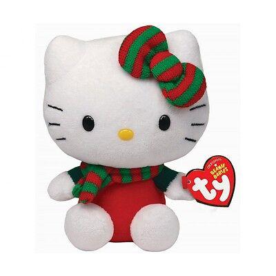 ღ HELLO KITTY BABY Plüschfigur 15 cm Weihnachten Plüsch TY 40970 NEU