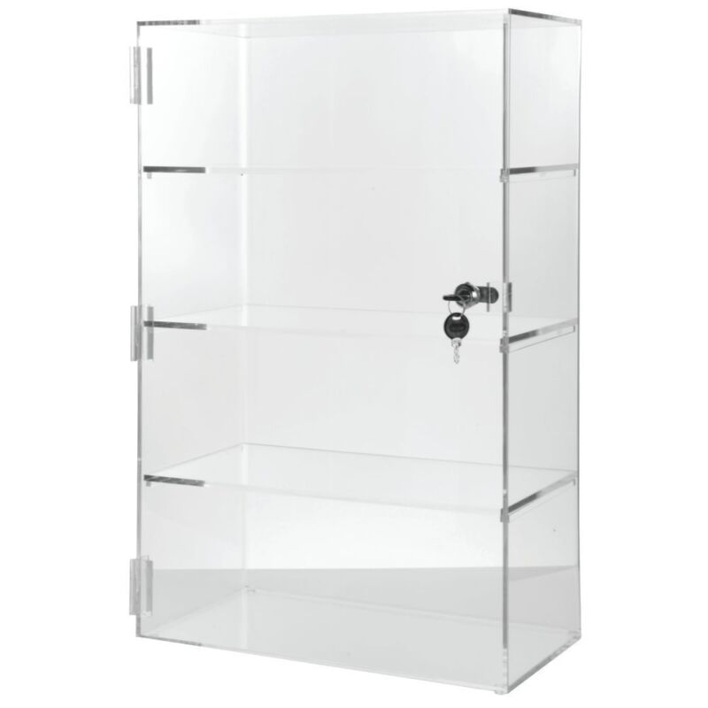 Vertical Acrylic Display Case 24inch H, 73823