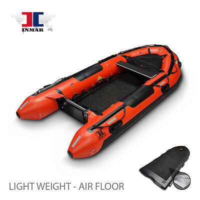 12'- 6''  INMAR Search & Rescue Dive Inflatable Rescue Boat