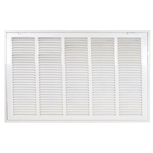Venti Air 25 in. x 14 in. white return air filter grille