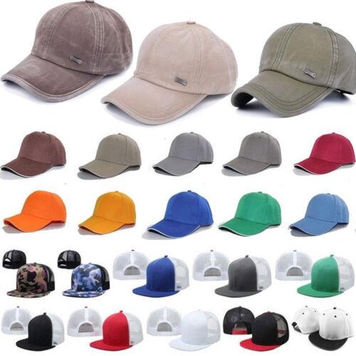 Herren Damen Cap Kappe Baseball Mütze Baseballcap Hat Hip-Hop Sports Hut Paket