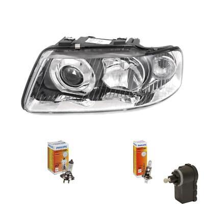 Scheinwerfer links für Audi A3 8L 00-03 mit Blinker optik inkl. Motor