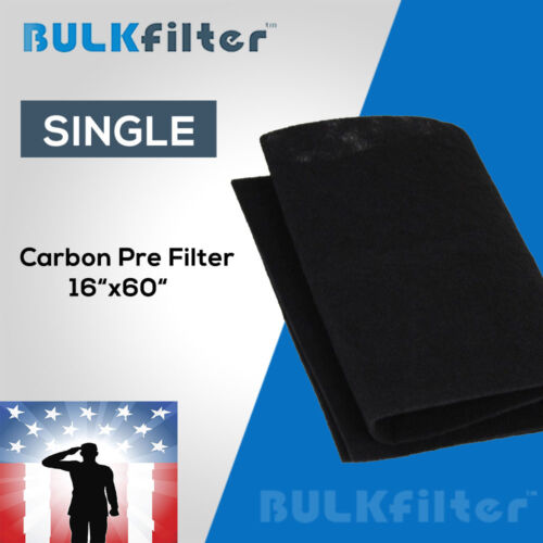 """Activated Carbon Air Filter 16""""x60"""" By BulkFilter"""