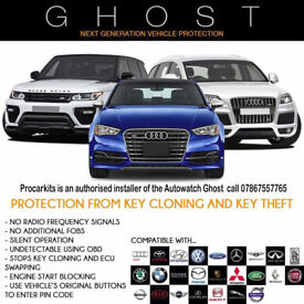 Autowatch Ghost Immobiliser protect your car Audi BMW Ford RS VW call