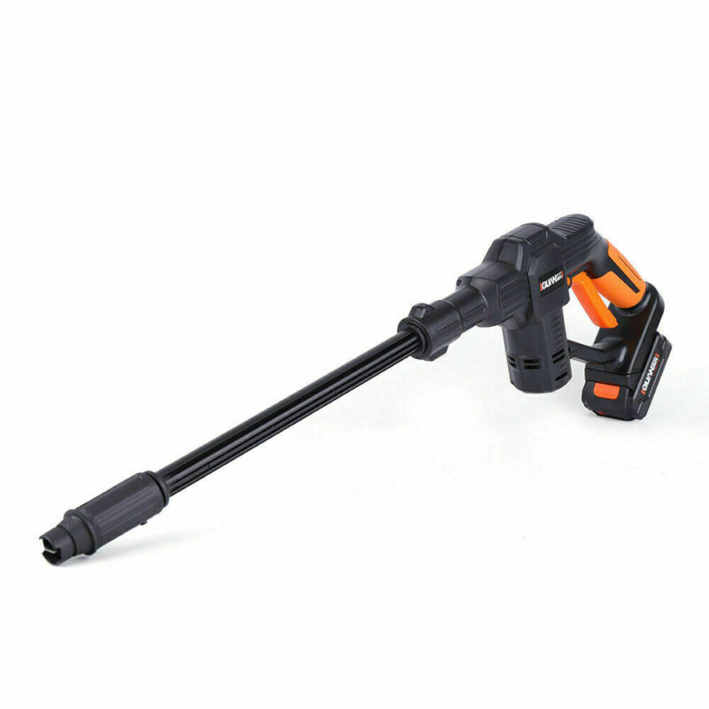 Used Portable High Pressure Car Washer Water Gun Cleaner Cordless  Battery Pack