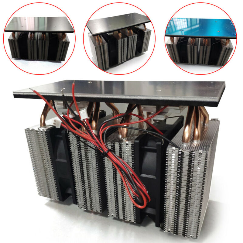 12V 240W DIY Electronic Semiconductor Refrigeration Cooler Cooling System Kits