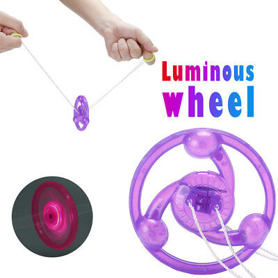 Cool LED Luminous Wheel Glow Kids Children Party Favors Glow Toys
