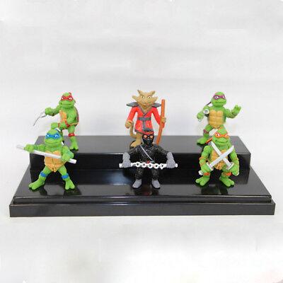 Teenage Mutant Ninja Turtles 6 PCS TMNT Action Figure Cake Topper Kid Gift Toys - Teenage Mutant Ninja Turtle Cake