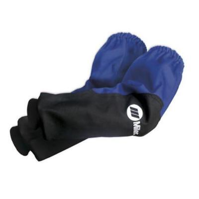 "Miller 231096 Indura 21"" Cotton/Leather Welding Sleeves - 1 Pair"