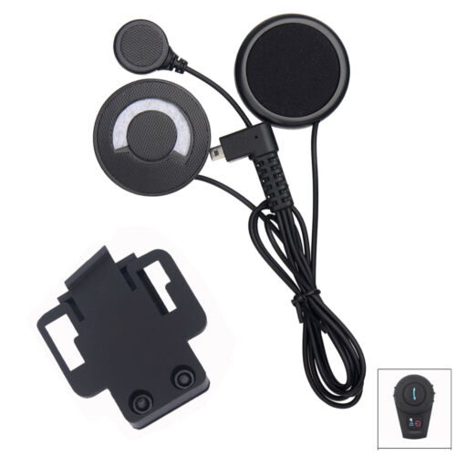 bluetooth helm lautsprecher kopfh rer f r motorrad gegensprechanlage headset ebay. Black Bedroom Furniture Sets. Home Design Ideas