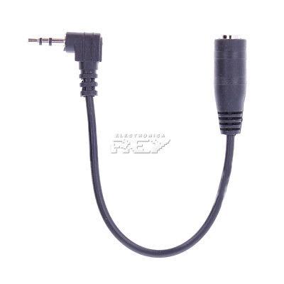Cable Adaptador MINI JACK 2.5mm MACHO a MINI JACK 3.5mm HEMBRA Convertidor...