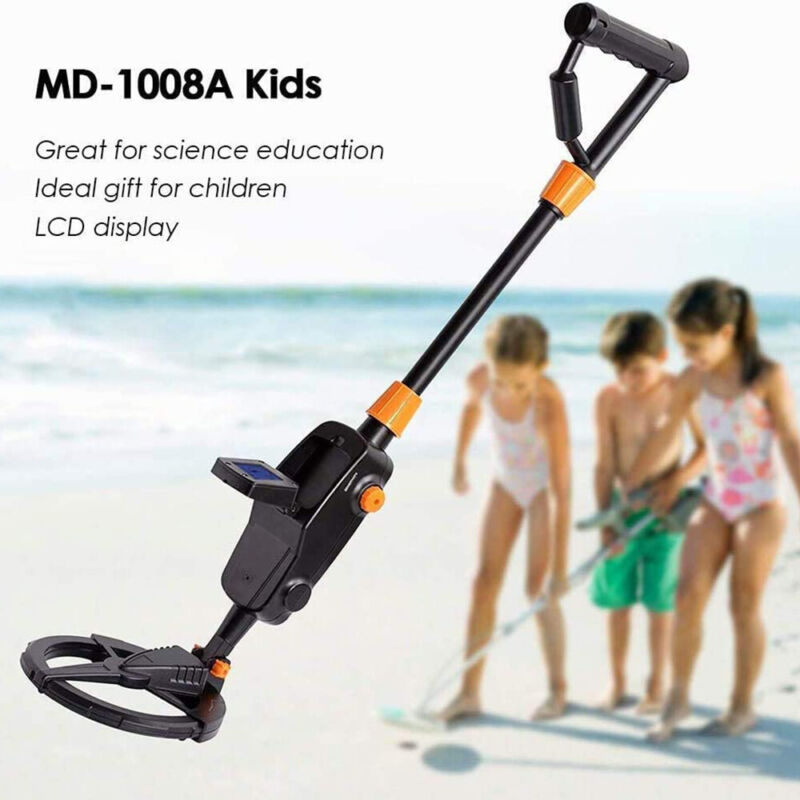 Metal Detector Gold Finder Hunter With Waterproof Search Coil Deep Ground New US