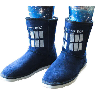 Doctor Who - TARDIS Female Boot Slippers