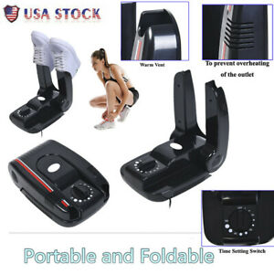 6ce8fd7a8cc Boot Dryer Portable Folding Shoes Warmer Electric Heat With Timer ABS US  Stock