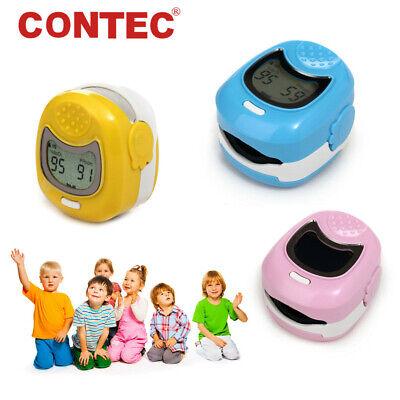 Ce Cms50qa Pediatric Child Fingertip Pulse Oximeter Spo2 Pr Blood Oxygen Monitor