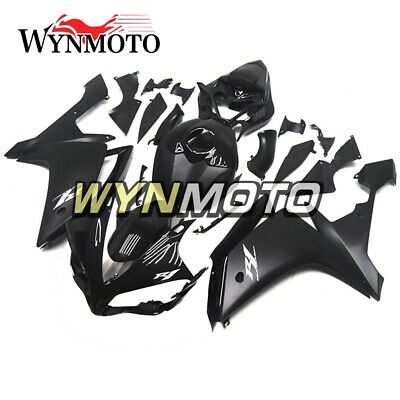 ABS Plastic Panels for YAMAHA 2007 2008 YZF1000 R1 Black New Injection Bodywork