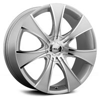 4x Roue (Mags) 20'' 20x8.5 5x114.3 et 5x112 42mm Silver