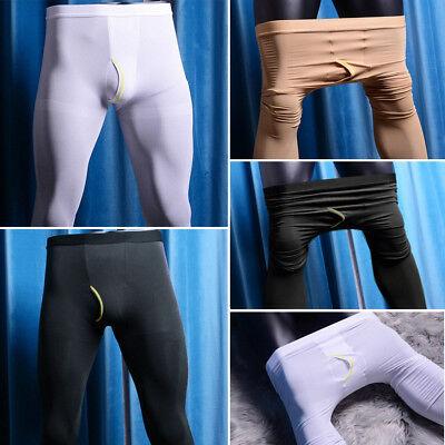 Herren Warme Strumpfhosen (Herren Velvet 80den Warme Strumpfhose Stretch Tights Unterhose Männerstrumpfhose)