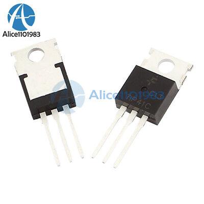 5pcs Tip41 Tip41c Npn Transistor 6a 100v To-220