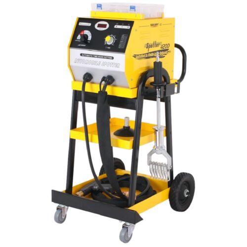 SOLARY 4200 Spot Welding Machine 4200A Car Dent Puller Spotter Welders Repair