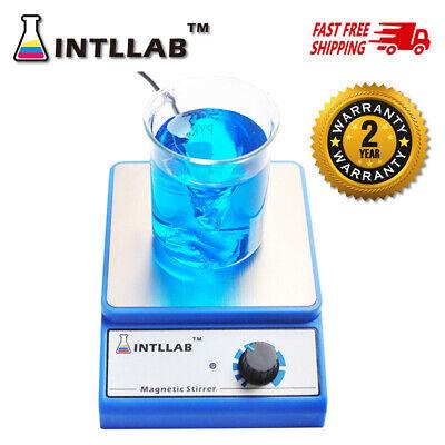 Intllab Magnetic Stirrer With Stir Bar 3000 Rpm Max Stirring Capacity 3000ml