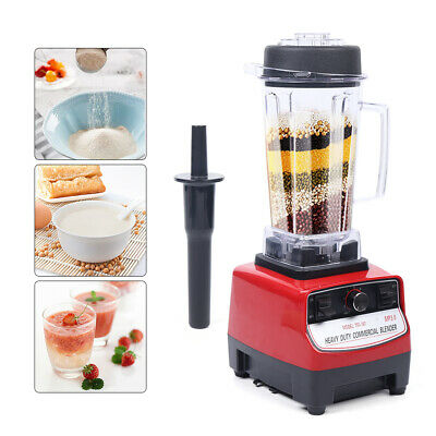 Commercial Electric Blender 1500w Shakes Smoothies Mixer Juicer Food Processor