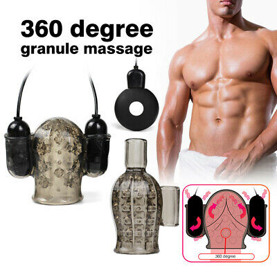 Sex-Toy-For-Male-Masturbators-Masturbation-Penis-Bullet Vibrator-Use-Lubricants